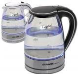 Чайник First 5406-2 WI 2200 Вт белый 1.7 л стекло