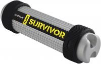 Флешка USB 128Gb Corsair Survivor CMFSV3B-128GB серебристый/черный