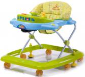 Фото Ходунки Baby Care Tom&Mary (green blue)