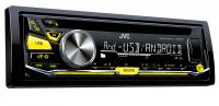 Автомагнитола JVC KD-R571 USB MP3 CD FM RDS 1DIN 4x50Вт черный