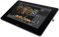 Фото Графический планшет Wacom Cintiq 27QHD Creative Pen Display DTK-2700 черный USB