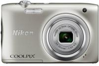 Фотоаппарат Nikon Coolpix A100 20Mp 5x Zoom серебристый