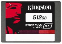 "Фото Твердотельный накопитель SSD 2.5"" 512 Gb Kingston SSDNow KC400 Read 550Mb/s Write 530Mb/s SATAIII SKC400S37/512G"