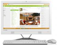 "Моноблок 23"" Lenovo AIO300-23ISU 1920 x 1080 Intel Core i3-6100U 4Gb 500Gb Intel HD Graphics 4400 DOS белый F0BY001QRK"