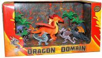 Игровой набор HGL Megasaurs 6 фигурок и 2 дерева в ассортименте
