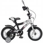 "Велосипед Velolider LIDER SHARK 12"" 12A-1287GR серый/черный"