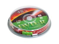 Фото Диски DVD+R VS 4.7Gb 16x CakeBox10шт 20533
