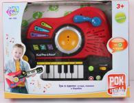 Музыкальная игрушка Play Smart 3в1 Гитара, пианино, барабан
