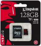 Фото Карта памяти Micro SDXC 128GB Class 10 Kingston SDCA3/128GB + SD адаптер