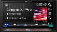 "Фото Автомагнитола Pioneer AVH-X8800BT 7"" 800х480 USB MP3 CD DVD FM RDS 2DIN 4x50Вт черный"