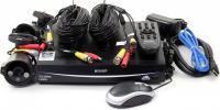 Комплект видеонаблюдения KGuard EasyLink 421-2HW212B 960H H.264 HDMI DropBox 4ch+ 2 камеры 600TVL IR LED 20м IP66 кабель 18м БП