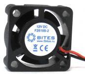 Вентилятор 5bites F2510S-2 25x25x10 2pin 23.5dB 10000rpm