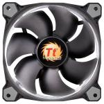 Вентилятор Thermaltake Fan Tt Riing 12 LED 120x120x25 3pin 18.7-24.6dB белая подсветка CL-F038-PL12WT-A