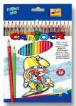 Набор цветных карандашей Universal Carioca 36 шт 41875 + точилка 41875