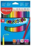 Набор цветных карандашей Maped Color Peps 18 шт 17.5 см 183218