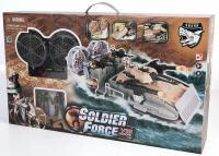 Игровой набор Chap Mei Морская десантная операция (3 фигуры, звук, свет, стреляет) 521024