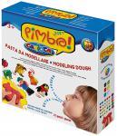 Набор для лепки Universal CARIOCA PIMBO SOFT 6 цветов 10 формочек, ролик + аксессуары 21 предмет 40178