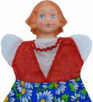 Кукла на руку Русский стиль Красная шапочка
