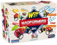 Магнитный конструктор Magformers Wow set 16 элементов 63094/707004
