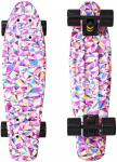 "Фото Скейтборд Y-SCOO Fishskateboard Print 22"" RT винил 56,6х15 с сумкой Rhombus 401G-R"