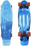 "Фото Скейтборд Y-SCOO Big Fishskateboard metallic 27"" RT винил 68,6х19 с сумкой BLUE/brown 402H-Bl"