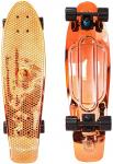 "Фото Скейтборд Y-SCOO Big Fishskateboard metallic 27"" RT винил 68,6х19 с сумкой ORANGE/black 402H-O"