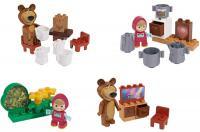 Конструктор Simba Маша и Медведь 7 элементов в ассортименте