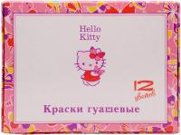 Фото Гуашь Action! Hello Kitty 12 цветов HKO-AGP-12