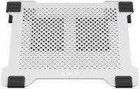 """Подставка для ноутбука до 17"""" Orico NA15-SV серебристый алюминий"""
