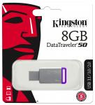 Фото Флешка USB 8Gb Kingston DataTraveler DT50/8GB