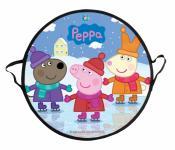 Ледянка 1Toy Свинка Пеппа Т58470 до 100 кг рисунок Пластик