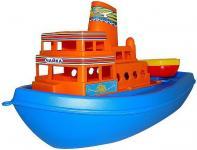 Корабль Полесье Чайка синий 36 см