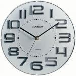 Часы настенные Scarlett SC-55O белый
