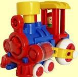 Поезд Форма Ромашка ДС красный 4607038552233