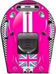 Ледянка RT SNOW AUTO MINI L до 150 кг розовый ПВХ
