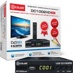 Тюнер цифровой DVB-T2 D-Color DC1002HDmini