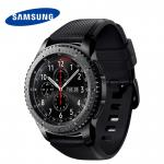 "Смарт-часы Samsung Galaxy Gear S3 Frontier SM-R760 1.3"" Super AMOLED темно-серый SM-R760NDAASER"