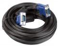 Кабель монитор-SVGA card (15M-15M) 5.0м 2 фильтра Vcom <VVG6448-5M>