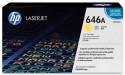 Картридж HP CF032A для CM4540 желтый 12500стр