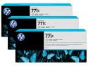 Струйный картридж HP B6Y38A №771С серый для HP Designjet Z6200 3шт.