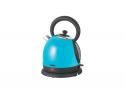 Чайник электрический, Endever Skyline KR-217S, емкость 1,8л, стальной корпус, BLUE, мощность 2200Вт, одно стеклянное окно