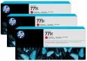 Картридж HP B6Y32A №711С для HP Designjet Z6200 775мл хроматический красный 3шт
