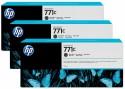 Картридж HP B6Y32A №711С для HP Designjet Z6200 775мл матовый черный 3шт