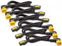 Кабель APC Power Cord Kit IEC 320 C13 to IEC 320 C14 1.2м 6шт