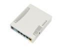 Беcпроводной маршрутизатор MikroTik RB951Ui-2HnD 802.11n 300Mbps 2.4ГГц 5xLAN