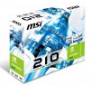 Видеокарта 1024Mb MSI GeForce 210 PCI-E DVI HDMI N210-TC1GD3H/LP Retail