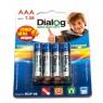 Батарейки Dialog R03P-8B AAA 8 шт