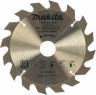 Пильный диск Makita Standard ф185х30\\16\\20х2мм 16зуб по дереву  D-45901