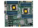 Материнская плата Supermicro MBD-X10DRH-C-O 2xLGA2011 C612 16xDDR3 1xPCI-E 16x 6xPCI-E 8x 10xSATA3 2xGLAN E-ATX