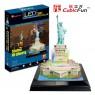 Пазл 3D CubicFun Статуя Свободы с иллюминацией